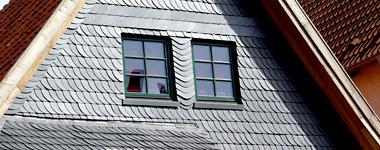 Fassadenverkleidung / Metallfassade / Holzfassade