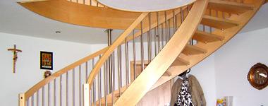 Treppe / Dachbodentreppe / Spindeltreppe