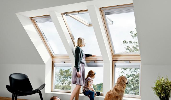 Henke Dachdeckerei: Dachfenster / Wohndachfenster / Tageslichtlösungen