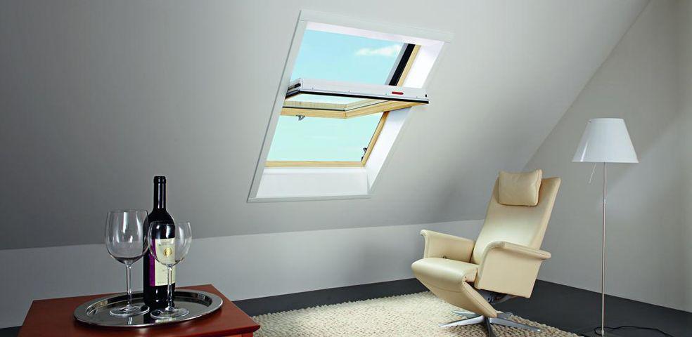 Roto Dachfenster Designo R6 Schwingfenster