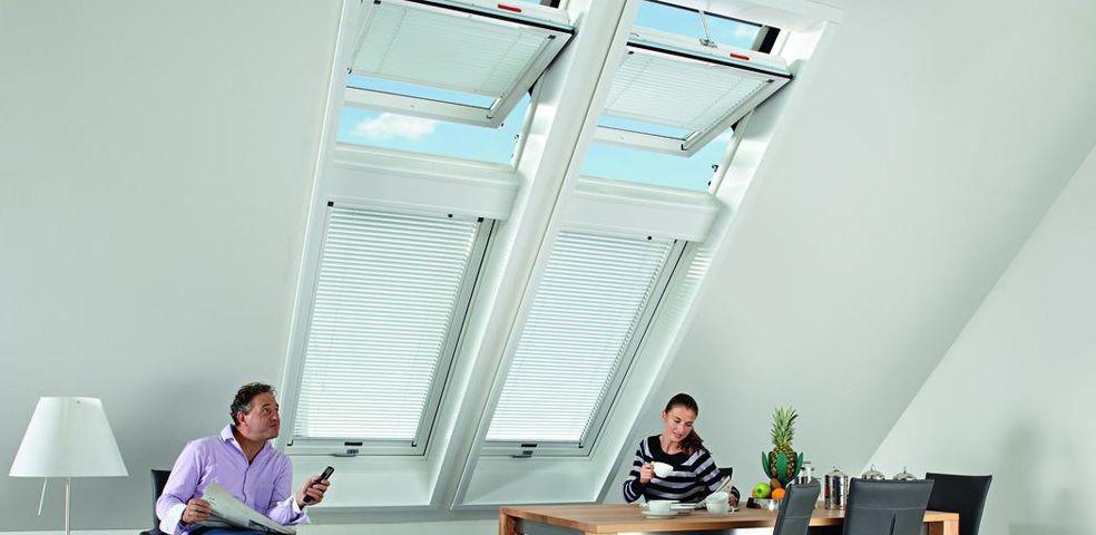 Roto dachfenster designo r6 rototronic - Dachfenster panorama ...