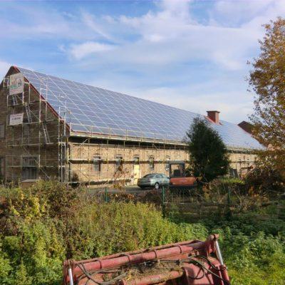 Henke Solartechnik - Photovoltaik – Anlage 101,64 kWp in Schwöbber bei Aerzen (Landkreis Hameln-Pyrmont)