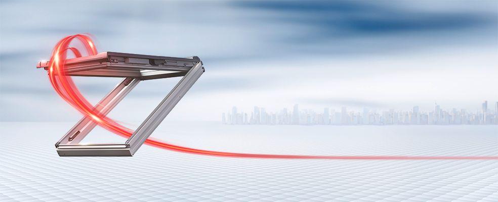 Roto Dachfenster Designo RotoComfort i8
