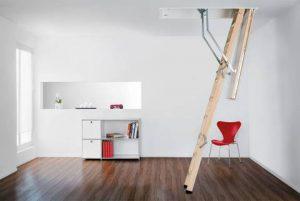 Henke Zimmerei - Columbus Raumspartreppe Bodentreppe Designo