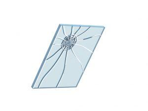 Henke Dachdecker für Bückeburg - Beim Verbund-Sicherheitsglas innen bindet eine reißfeste Folie im Falle eines Bruches der Scheibe die Glassplitter und sorgt so im Fall der Fälle für eine Reduzierung der Verletzungsgefahr