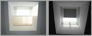 Henke Dachdecker für Stadthagen - JET-Lichtkuppel Sonnenschutz Innenansichten
