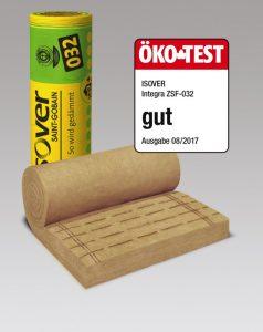 """Henke Dachdecker für Stadthagen - Ein """"Gut"""" von Öko-Test für ISOVER Dämmfilz"""