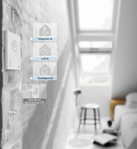 Henke Dachfenster für Stadthagen - Smart-Home-System Velux Active optimiert Raumklima automatisch