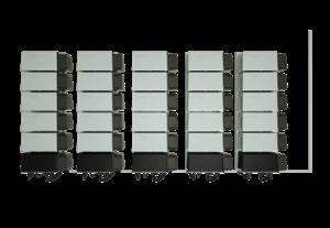 """Henke Solartechnik für Bückeburg - """"Energy Storage Europe"""": SOLARWATT zeigt Gewerbespeicher mit einer Kapazität von 60 kWh"""