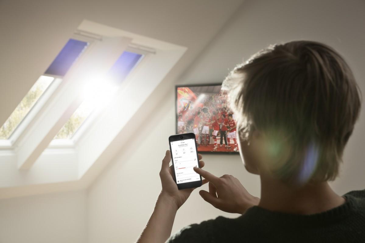 Henke Dachfenster für Rodenberg - VELUX Dachfenster Active Smarthome
