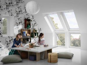 Henke Dachdecker für Minden - VELUX Dachfenster Kinderzimmer