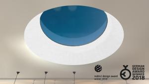 Henke Dachdecker für Bad Nenndorf - LAMILUX RedDot Design Award Dachoberlicht F100 Rund