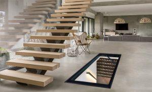 Henke Zimmerei für Schaumburg - Gorter - Verglaste Bodenluke für mehr Tageslicht und ein größeres Erlebnis